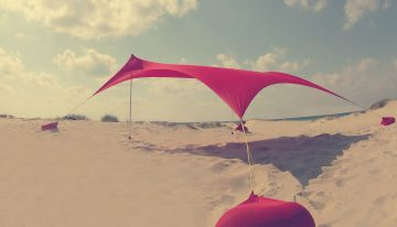 After using Othentik sunshade even I go to the beach now :)